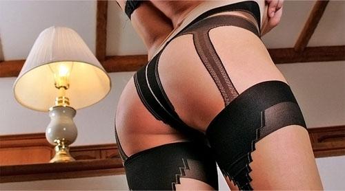 garter pantyhose